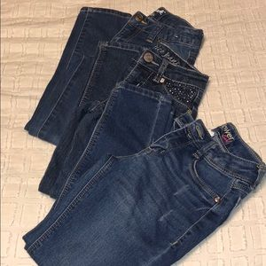 Other - Set of 3 girls size 7 jeans!